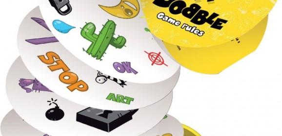 Test du jeu Dobble : soyer le plus rapide