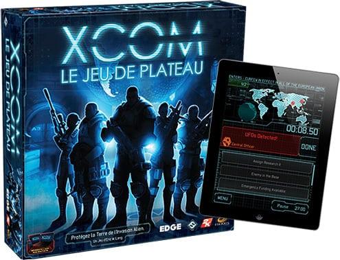 XCOM jeu de plateau boite
