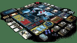 XCOM jeu de plateau plateau de jeu